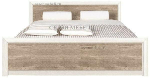 Кровать Коен LOZ140/160/180x200 ясень снежный/ сосна натуральная (фото)