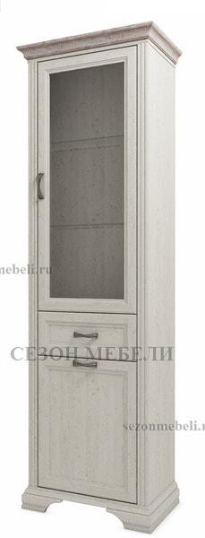 Шкаф с витриной Монако (Monako) 1V1D1S (возможна подсветка) (фото)