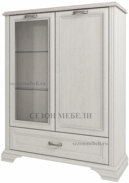 Шкаф с витриной Монако (Monako) 1V1D1SL (возможна подсветка) (фото)