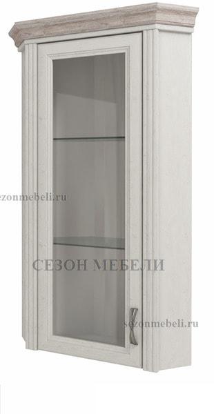 Шкаф с витриной угловой Монако (Monako) 1VU (возможна подсветка) (фото)