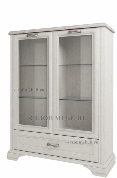 Шкаф с витриной Монако (Monako) 2V1SL (возможна подсветка) (фото)
