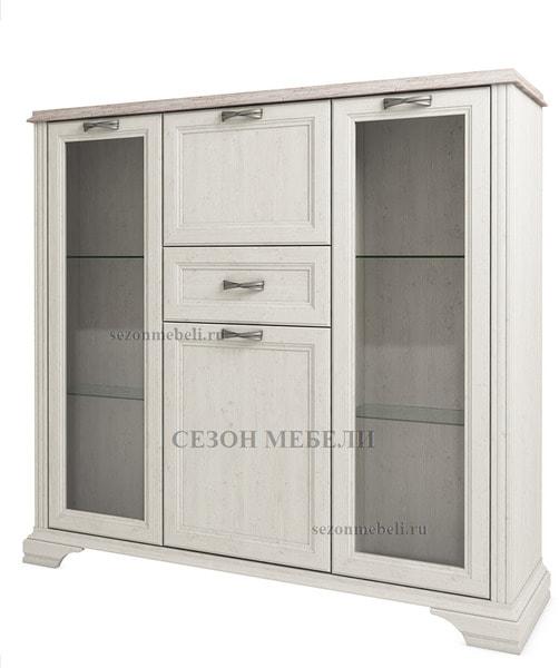Шкаф с витриной Монако (Monako) 2V2D1S (возможна подсветка) (фото)