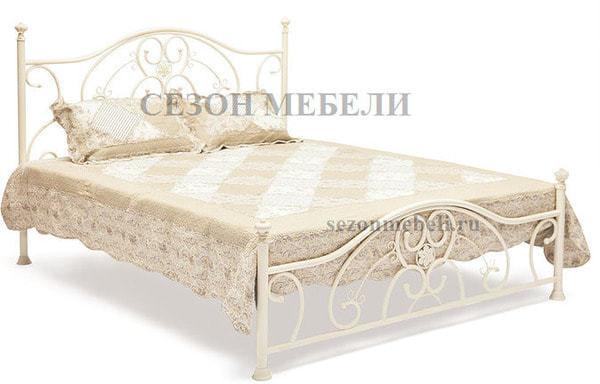 Кровать Elizabeth (Элизабет) ан.9701 античный белый (фото)