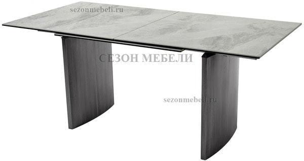 Стол METEOR 180 CERAMIC керамика на стекле (фото)