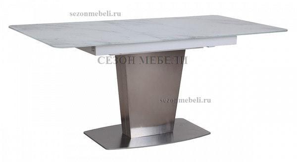 Стол CASTSTEEL 130 GLASS ПОД МРАМОР