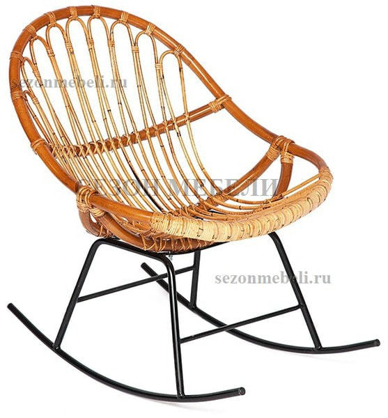 Кресло-качалка Secret De Maison Petunia (mod. 01 5088 RC SP KD/1-1 ) (фото)