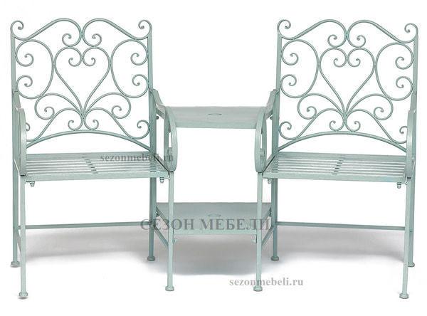 Комплект Tet-a-Tet (mod. PL08-34283B) (столик+ 2 кресла) (фото)