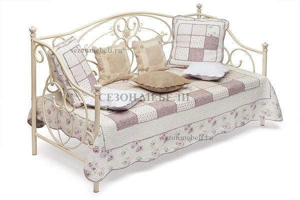 Кровать Jane (Джейн) античный белый (фото)