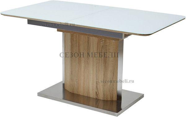 Стол LUXOR WHITE/ SONOMA (фото)