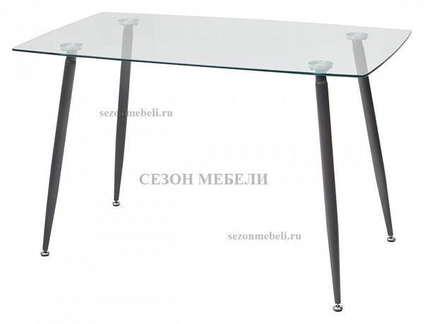 Стол RON 120 прозрачный (фото)