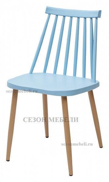 Стул EASEL голубой PP/металл ламинированный (фото)