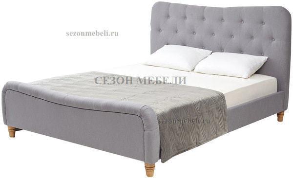 Кровать SWEET JAZMIN 160*200 ткань Grey 2 (фото)