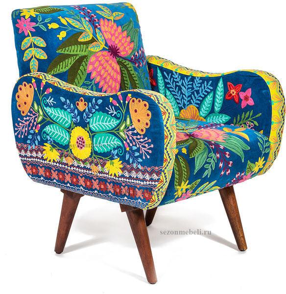 Кресло Sondrio (blue/green) (фото)