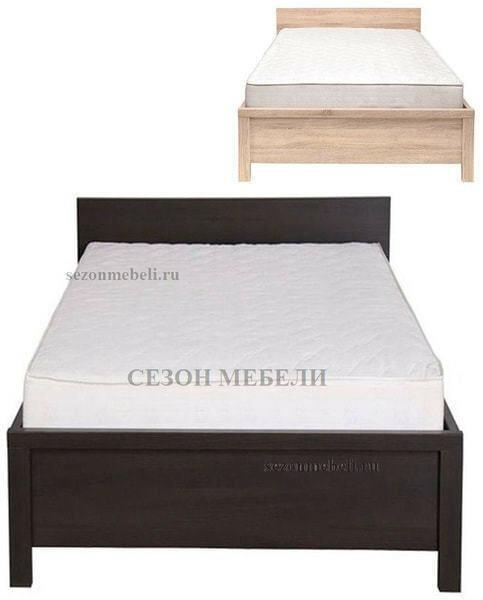 Кровать Каспиан LOZ90х200 дуб сонома (без основания) (фото)