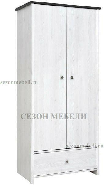 Шкаф платяной Порто SZF2D1S (фото)