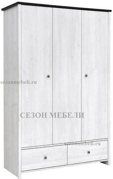 Шкаф платяной Порто SZF3D2S (фото)