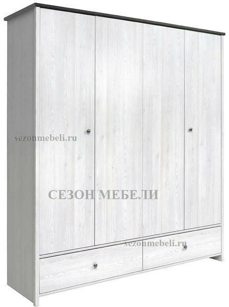 Шкаф платяной Порто SZF4D2S (фото)