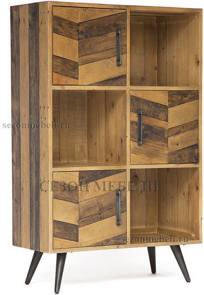 Шкаф книжный Largo (mod. LAR L04В) (фото)