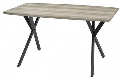 Стол CRUDE 140 серый дуб (фото)