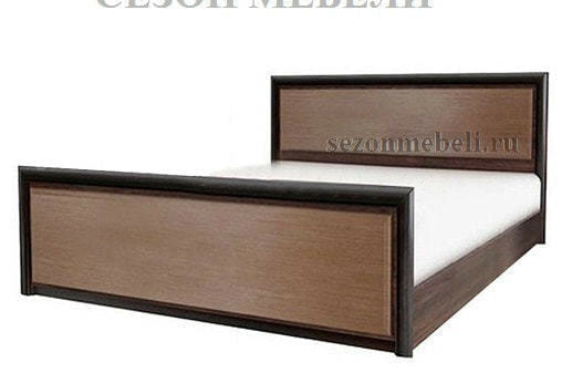 Кровать Коен LOZ140/160/180x200 венге магия/ штрокс темный (фото)