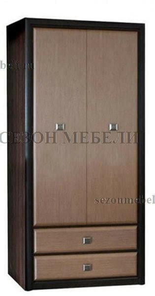 Шкаф Коен REG2D2S венге магия/ штрокс темный (фото)