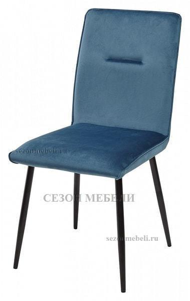 Стул VINCENT G062-45 пудровый синий, велюр (фото)