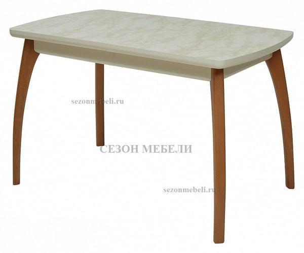 Стол VIZYON крем/ орех 140 см (фото)