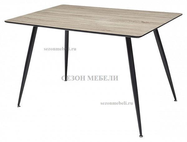 Стол WOOD43 #4 дуб серо-коричневый (фото)