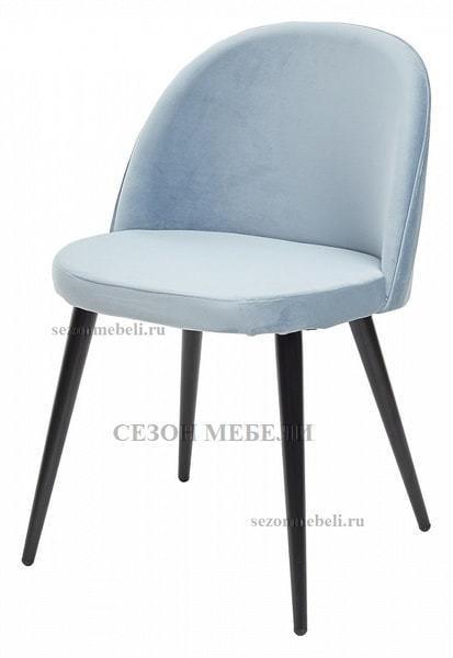 Стул JAZZ пудровый голубой, велюр G108-55 (фото)