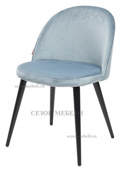 Стул JAZZ пудровый серо-голубой, велюр G062-43 (фото)