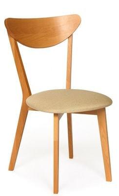 Стул MAXI (Макси) мягкое сиденье/ цвет сиденья - Бежевый (фото)