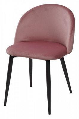 Стул DISCO G062-78 розовый, велюр (фото)