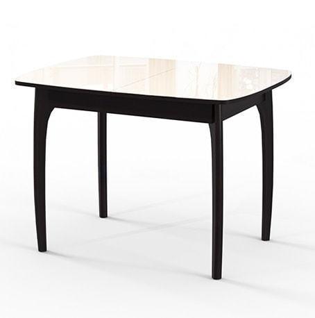 Стол №40 ДН4 венге/стекло бежевое (фото)