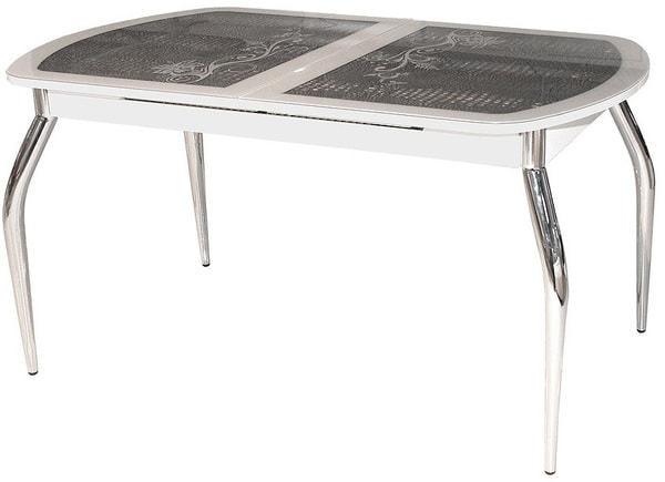 Стол Флоренция (серебро) (фото)
