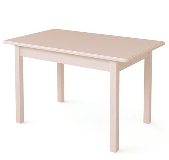 Стол обеденный прямоугольный ВМ20 (слоновая кость)