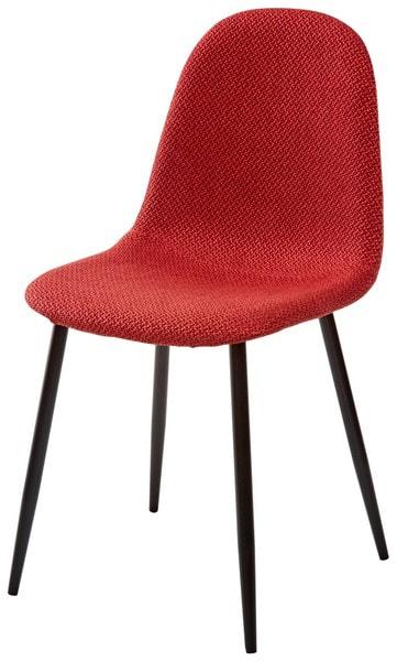 Стул MOLLY TRF-04 красный, ткань (фото)