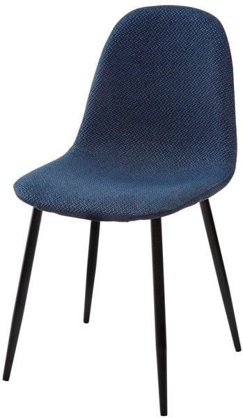 Стул MOLLY TRF-06 полночный синий, ткань (фото)