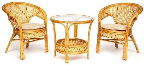 Комплект террасный Pelangi (Honey - Мёд) (фото)