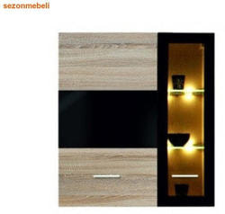 Шкаф настенный Соматик SFW1W1D/11/10/L (левый)