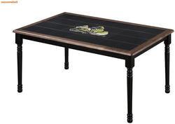Стол обеденный с плиткой СТ 3760Р (венге)