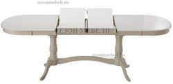 Стол Siena (Сиена) SA-T6EX2L (Ivory white)