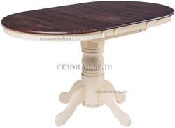 Стол JIN EXT 3242 F AV (Cream+Cappucino)