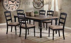 Обеденная группа (стол LT T13225 и стулья LT C13321)