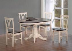 Обеденная группа (стол JIN EXT 3242 F AV и стулья D-878H)