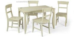 Обеденная группа (стол CIVIC CT 3345P и стулья CIVIC Sunny Chair)
