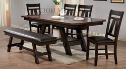 Обеденная группа (стол GR OUDT-7842-WPH и стулья CCRA-347APU-S)