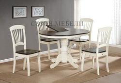 Обеденная группа (стол JIN EXT R36 NF AV и стулья JIN D-2092)