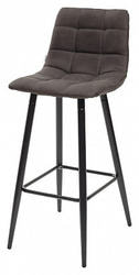 Стул барный стул SPICE PK-04 темно-серый, ткань микрофибра