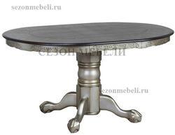 Стол ECDT-4260-CCC (Silver Gold)
