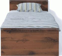 Кровать Индиана JLOZ 90/ JLOZ160x200 дуб саттер